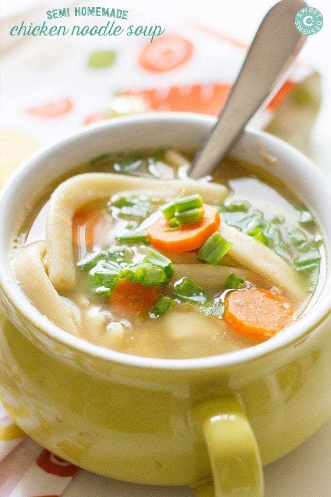 Best Chicken Noodle Soup Recipe  The BEST Easy Homemade Chicken Noodle Soup