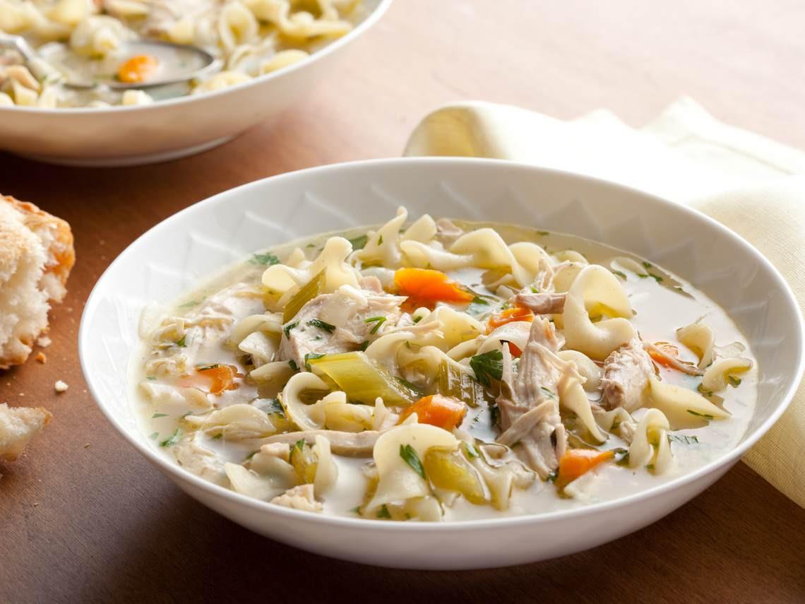 Best Chicken Noodle Soup  Jean's Homemade Chicken Noodle Soup Glorious Soup Recipes