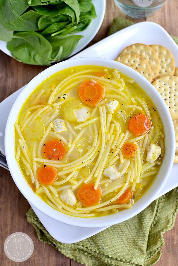 Best Chicken Noodle Soup  vermicelli chicken noodle soup