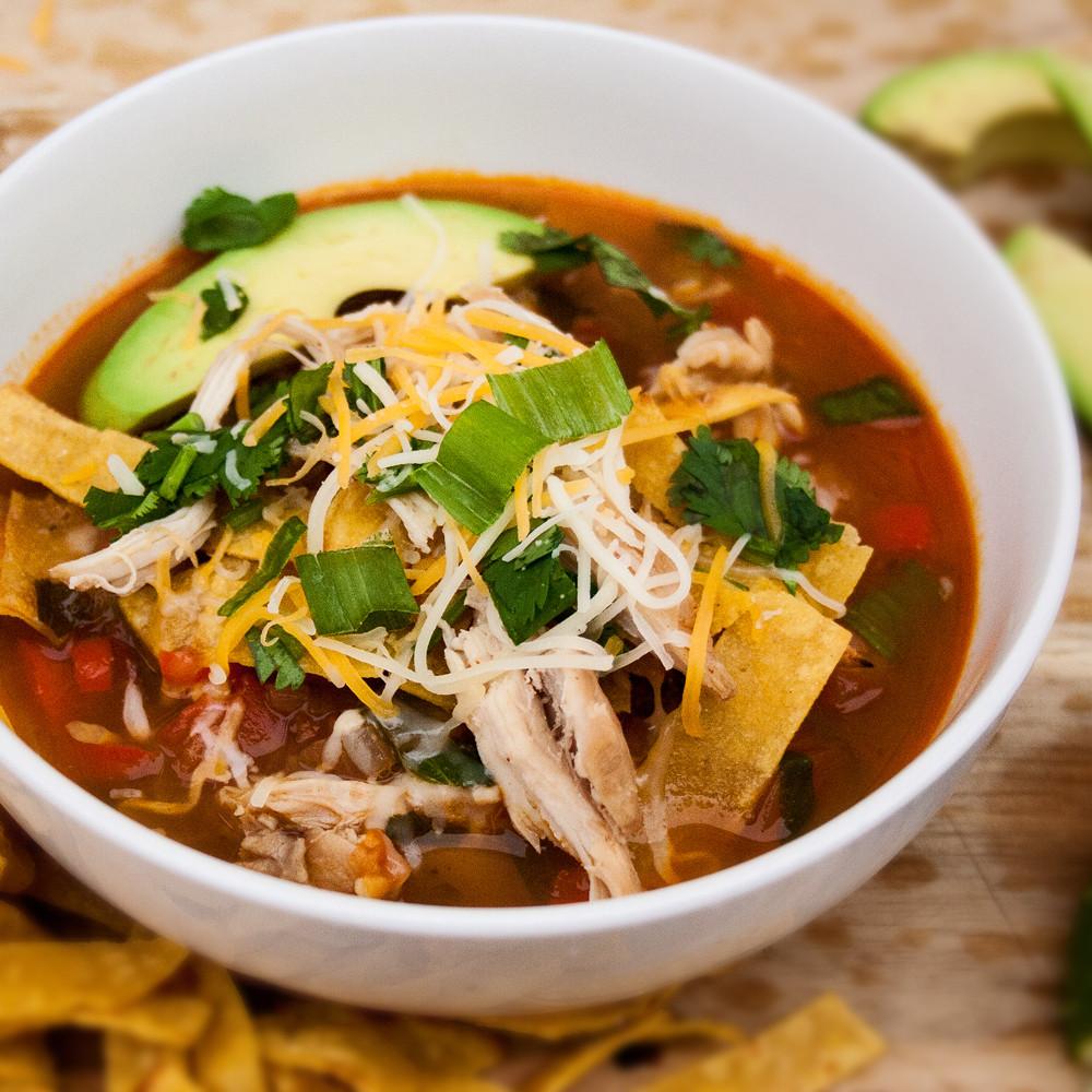 Best Chicken Tortilla Soup  Best Chicken Tortilla Soup
