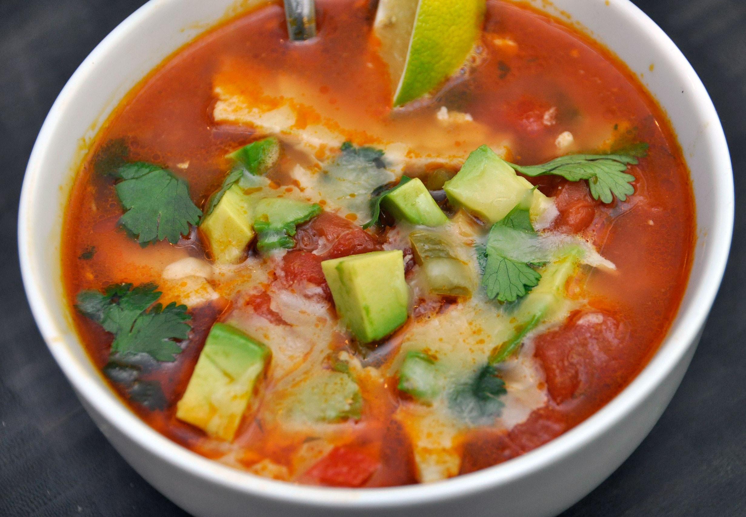 Best Chicken Tortilla Soup  Recipe Chicken Tortilla Soup
