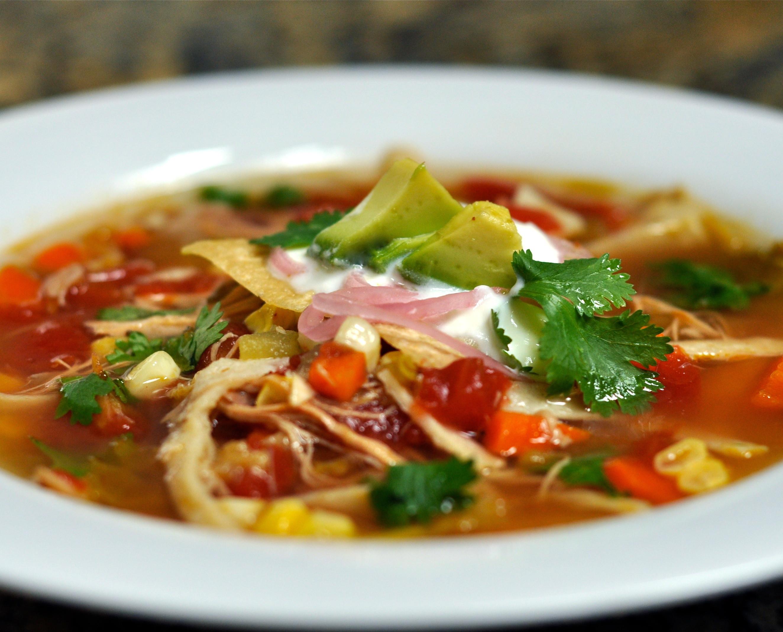 Best Chicken Tortilla Soup  Chicken Tortilla Soup Recipe 5 Minutes for Mom