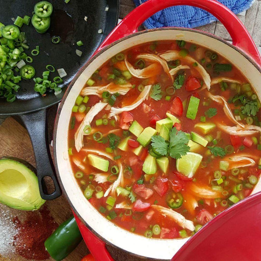 Best Chicken Tortilla Soup  THE BEST Chicken Tortilla Soup recipe