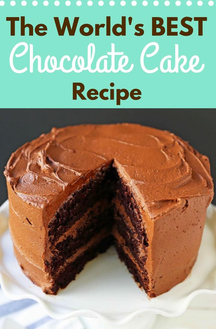 Best Chocolate Cake Love at First Sight Chocolate Cake – Modern Honey