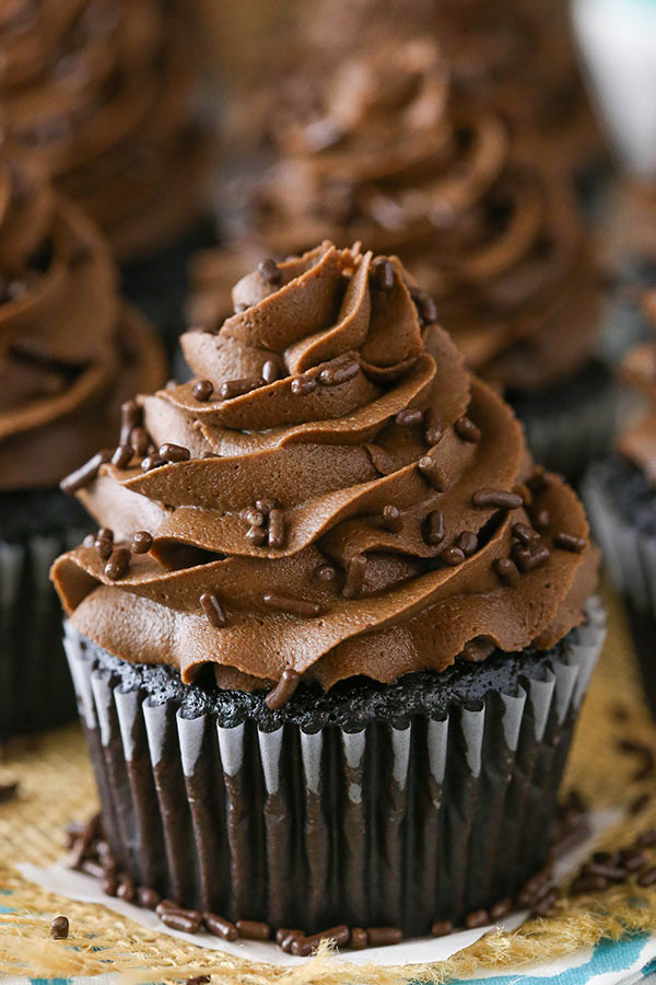 Best Chocolate Cupcakes  Best Homemade Chocolate Cupcake Recipe
