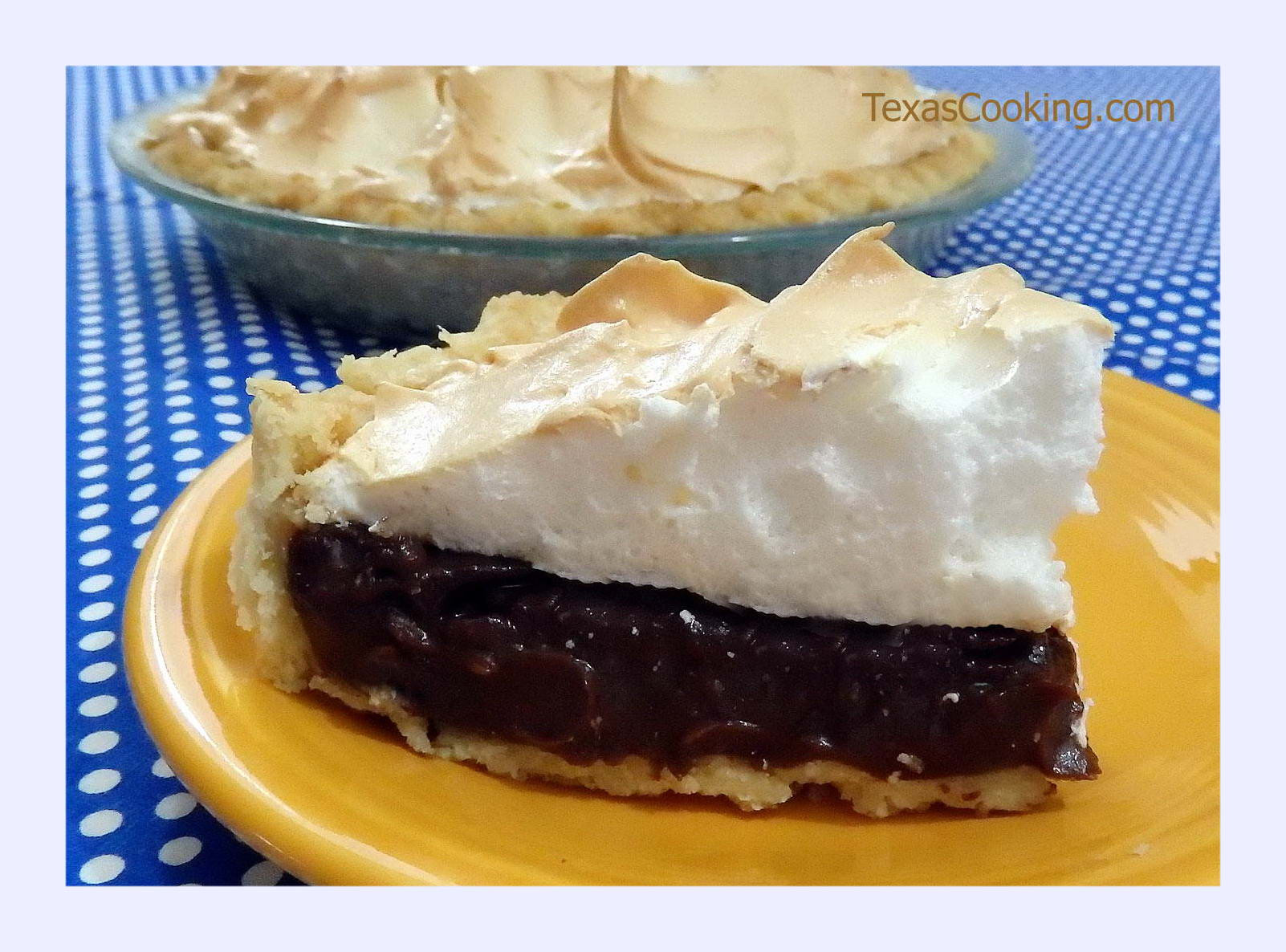 Best Chocolate Pie Recipe  best ever chocolate meringue pie