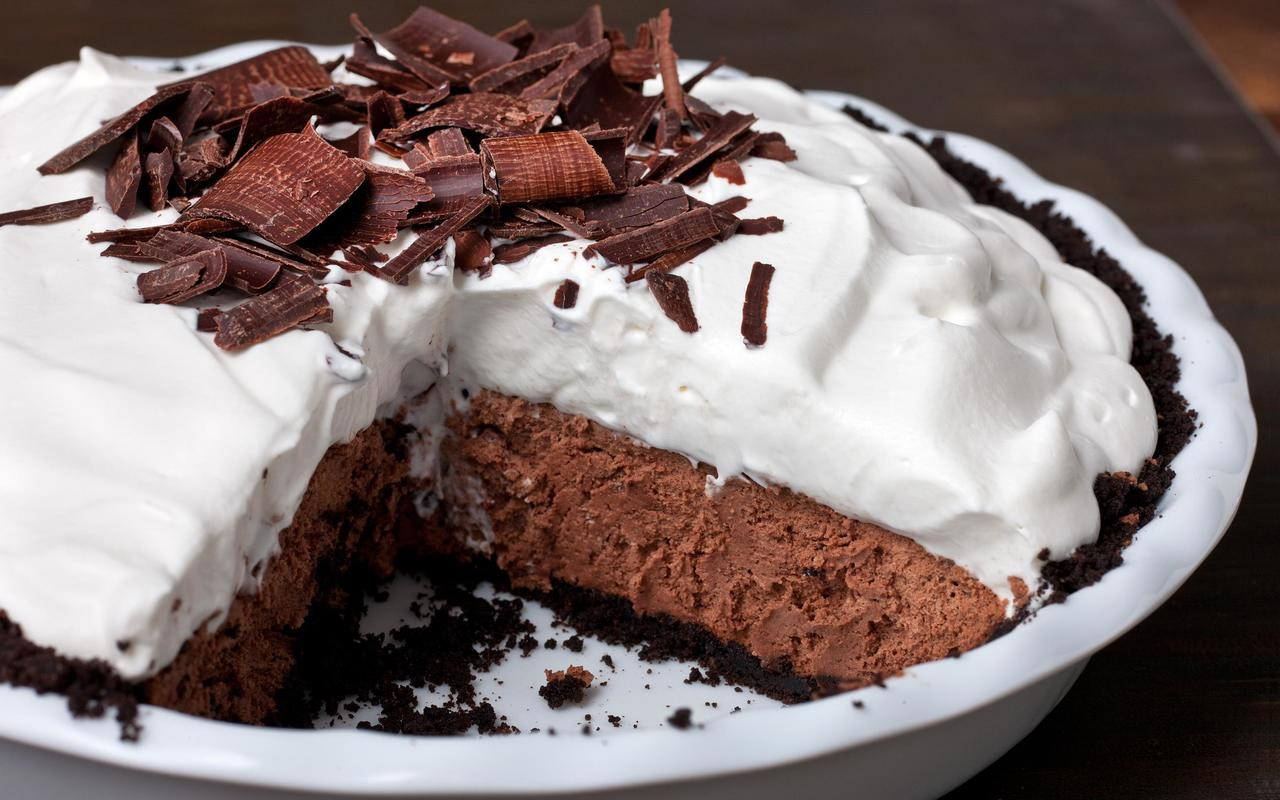 Best Chocolate Pie Recipe  Chocolate Mousse Pie Recipe Chowhound