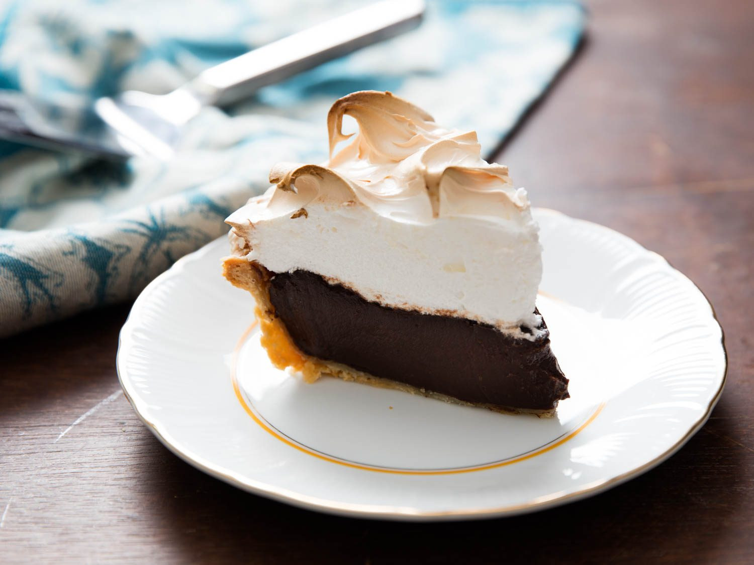 Best Chocolate Pie Recipe  Double Chocolate Cream Pie Recipe
