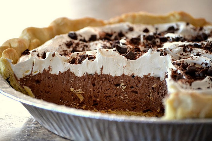 Best Chocolate Pie Recipe  the best chocolate pie recipe