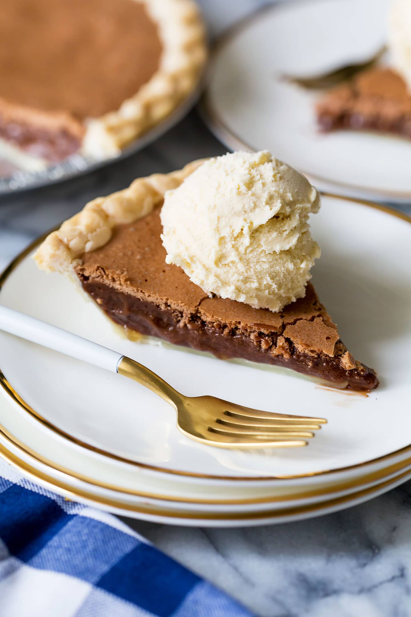 Best Chocolate Pie Recipe  Angus Barn Chocolate Chess Pie Recipe