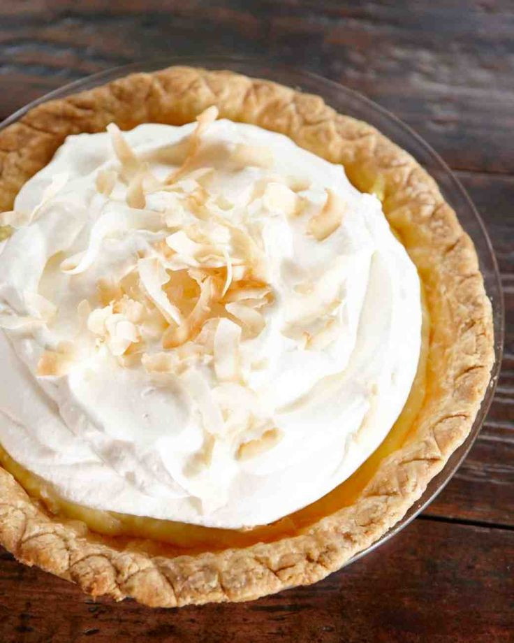 Best Coconut Cream Pie  38 best images about Martha Stewart & friends on