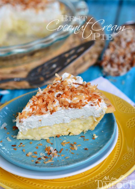 Best Coconut Cream Pie  Dad s Coconut Cream Pie Mom Timeout
