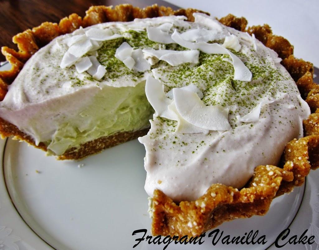 Best Coconut Cream Pie  Raw Matcha Coconut Cream Pie