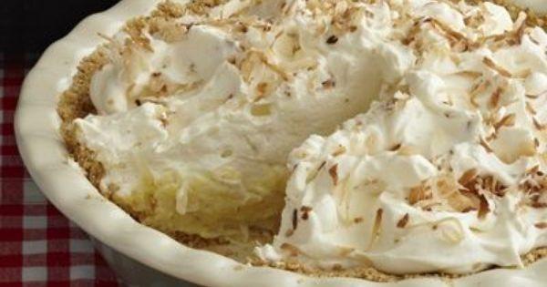 Best Coconut Cream Pie  Joe Licata's Best Ever Coconut Cream Pie