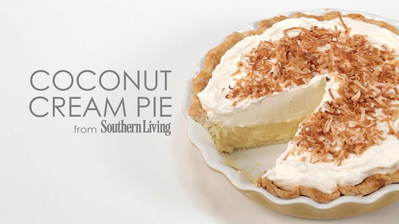 Best Coconut Cream Pie  best coconut cream pie southern living