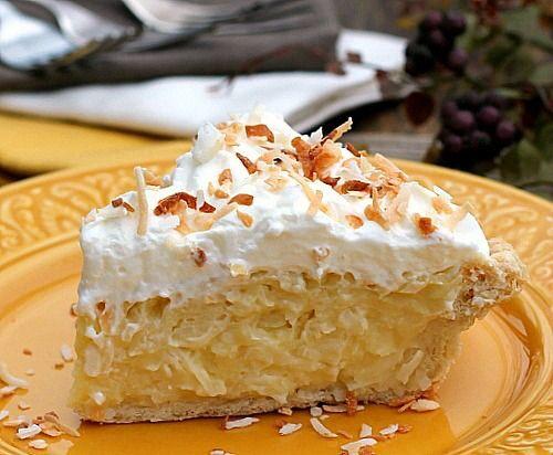 Best Coconut Cream Pie  The Best Coconut Cream Pie Recipe