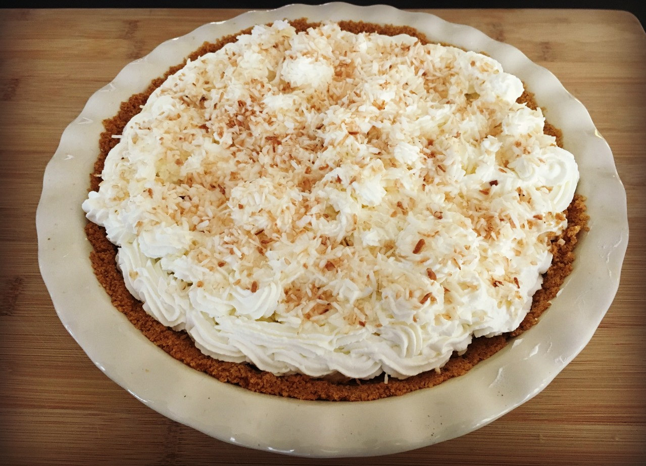 Best Coconut Cream Pie  For The Rest This is The Best Coconut Cream Pie Life