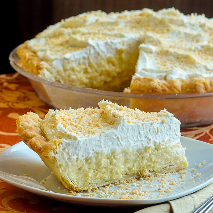 Best Coconut Cream Pie  Coconut Cream Pie a real old fashioned homemade from