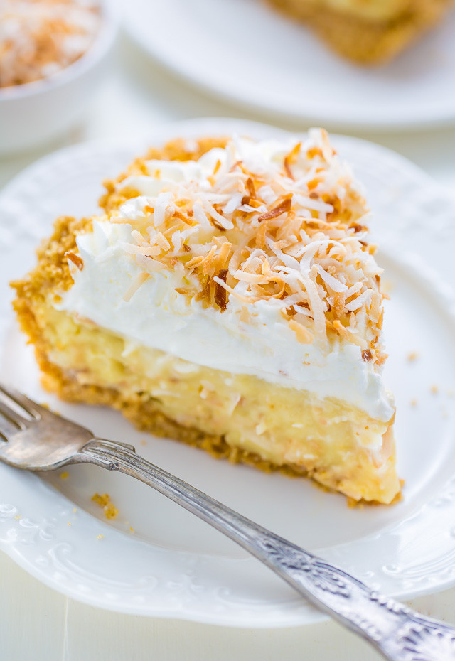 Best Coconut Cream Pie  My Favorite Coconut Cream Pie Baker by Nature
