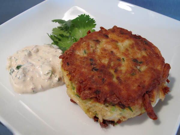 Best Crab Cakes In Baltimore  Best Baltimore Crab Cakes with Creamy Chipotle Chile Sauce