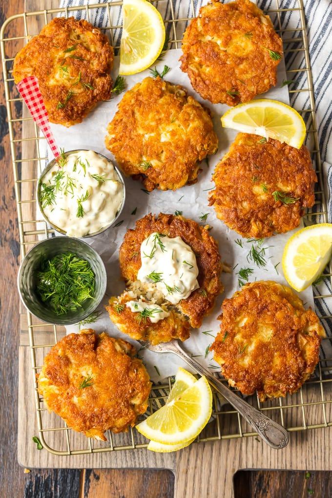 Best Crab Cakes In Baltimore  Best Crab Cake Recipe Baltimore Crab Cakes VIDEO
