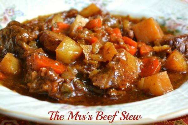 Best Crockpot Beef Stew  Best Ever Beef Stew Mrs Happy Homemaker