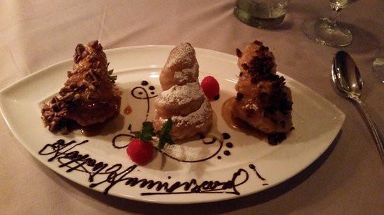 Best Dessert In Charleston  Anniversary dessert 2 Picture of Circa 1886 Restaurant