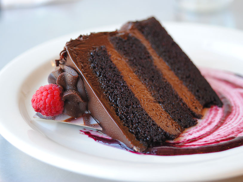Best Dessert In Cincinnati  Sugar Rush Double Belgian Chocolate Raspberry Torte at