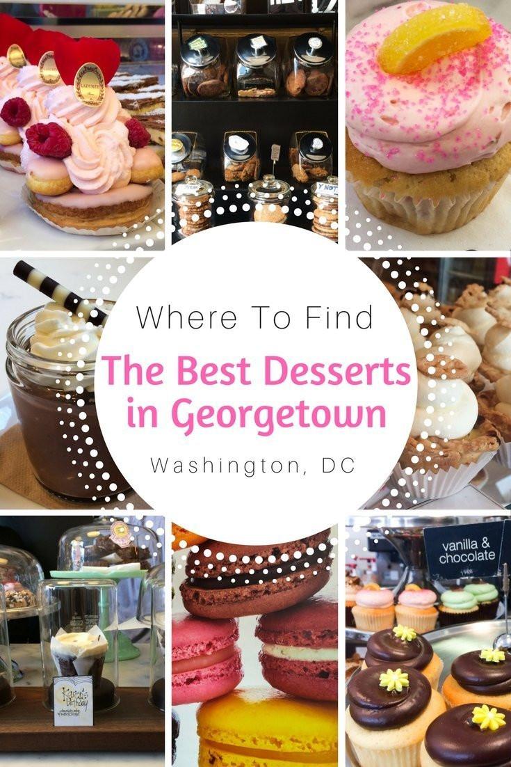 Best Dessert In Dc  Where to Find the Best Desserts in Geor own Washington