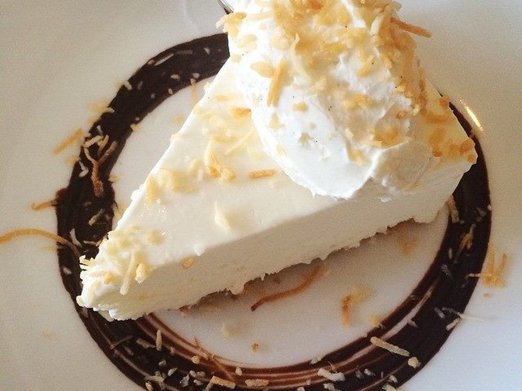 Best Desserts In Los Angeles  CALIFORNIA Coconut Gelato Pie at Gusto in Los Angeles