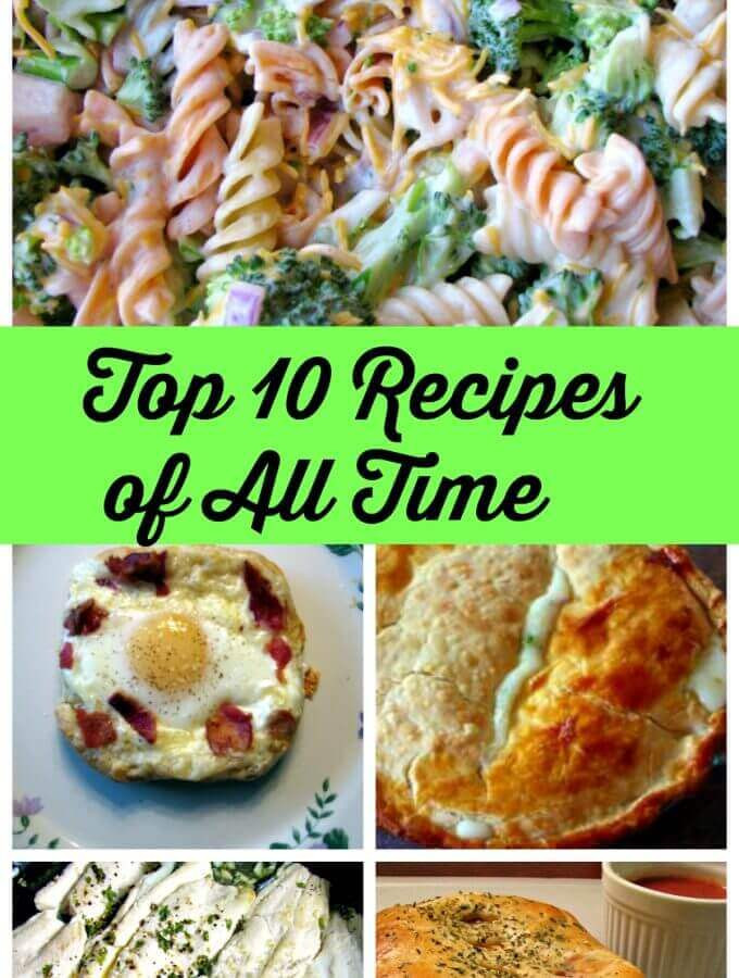 Best Dinner Recipes Of All Time  Rants From My Crazy Kitchen Focusing on mostly savory