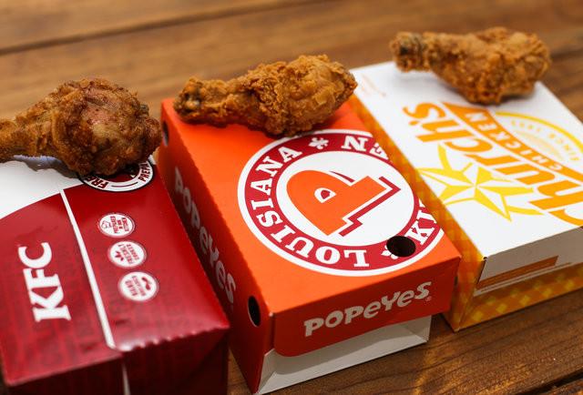 Best Fast Food Fried Chicken  Best Fried Chicken Ranking Church s Chicken Popeyes