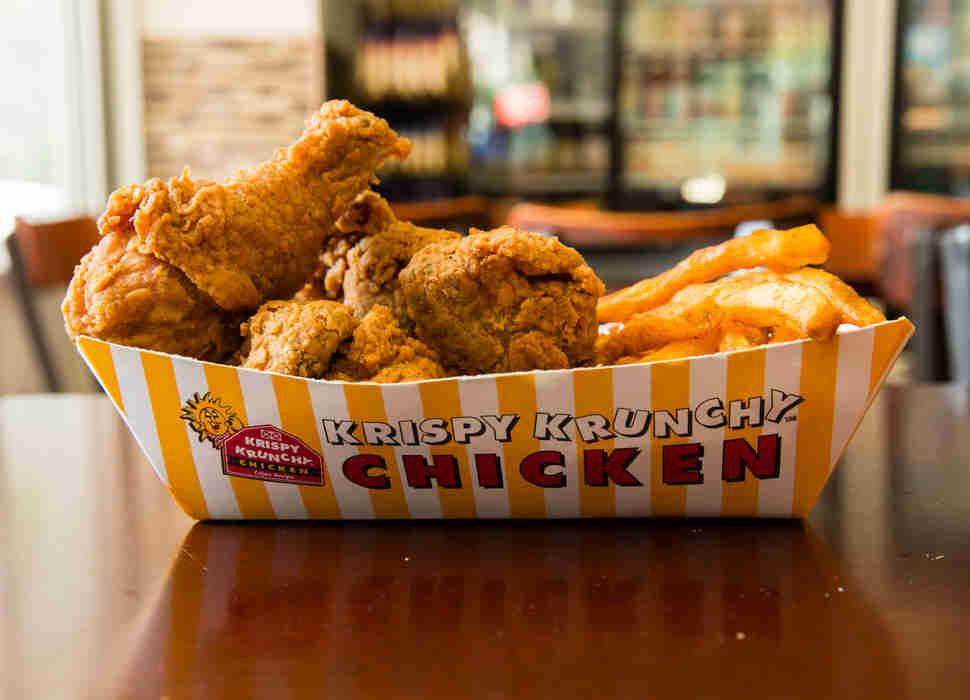 Best Fast Food Fried Chicken  Krispy Krunchy Chicken America s Best Fast Food Fried