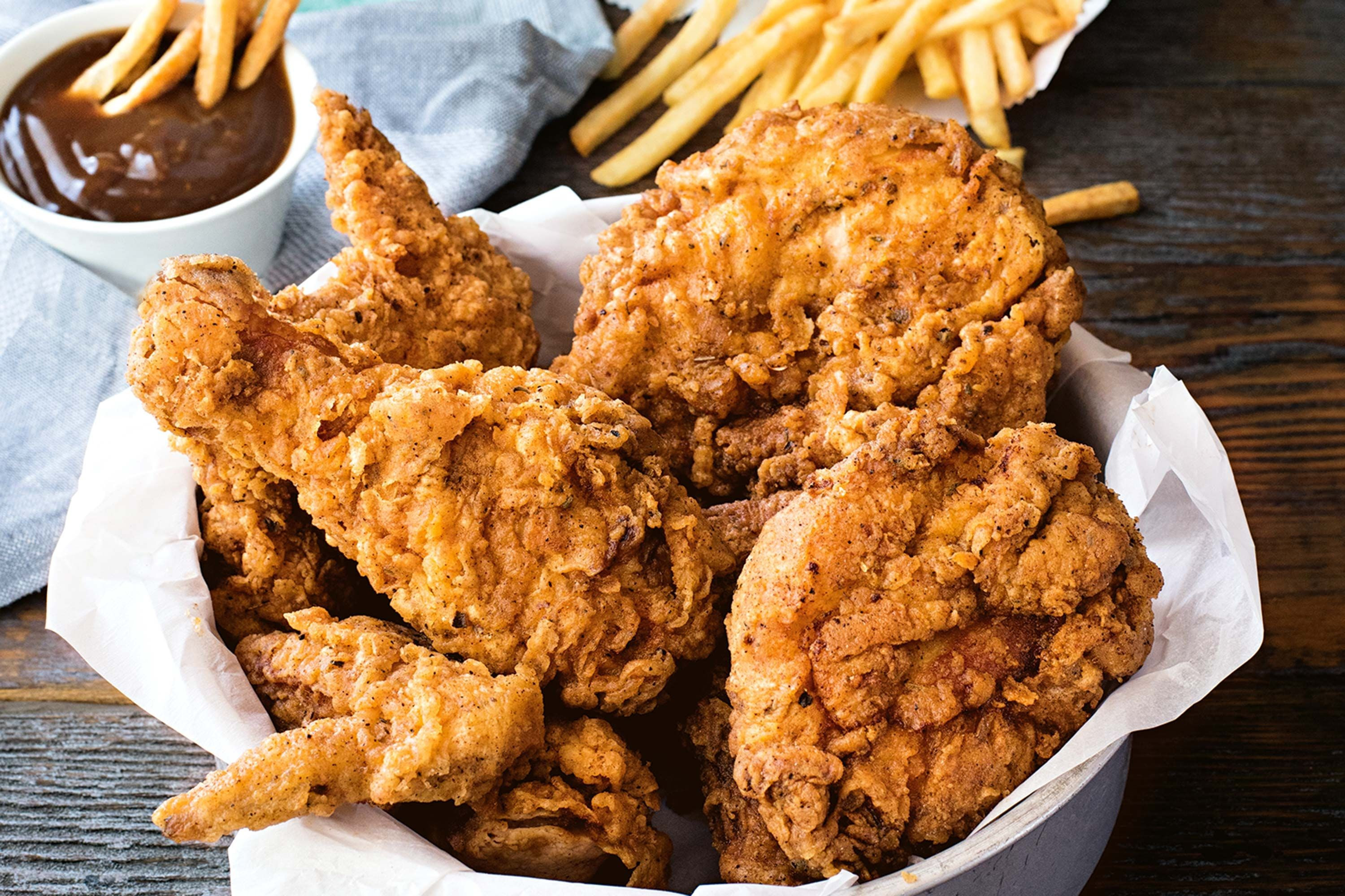 Best Fast Food Fried Chicken  How to joint a chicken