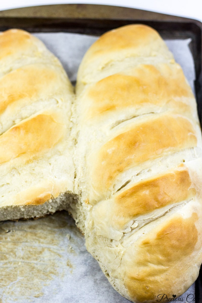 Best French Bread Recipe  EASY HOMEMADE FRENCH BREAD