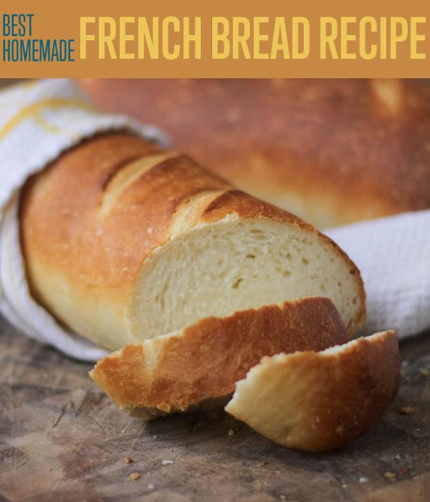 Best French Bread Recipe  The Easiest Best French Bread Recipe – iSeeiDoiMake