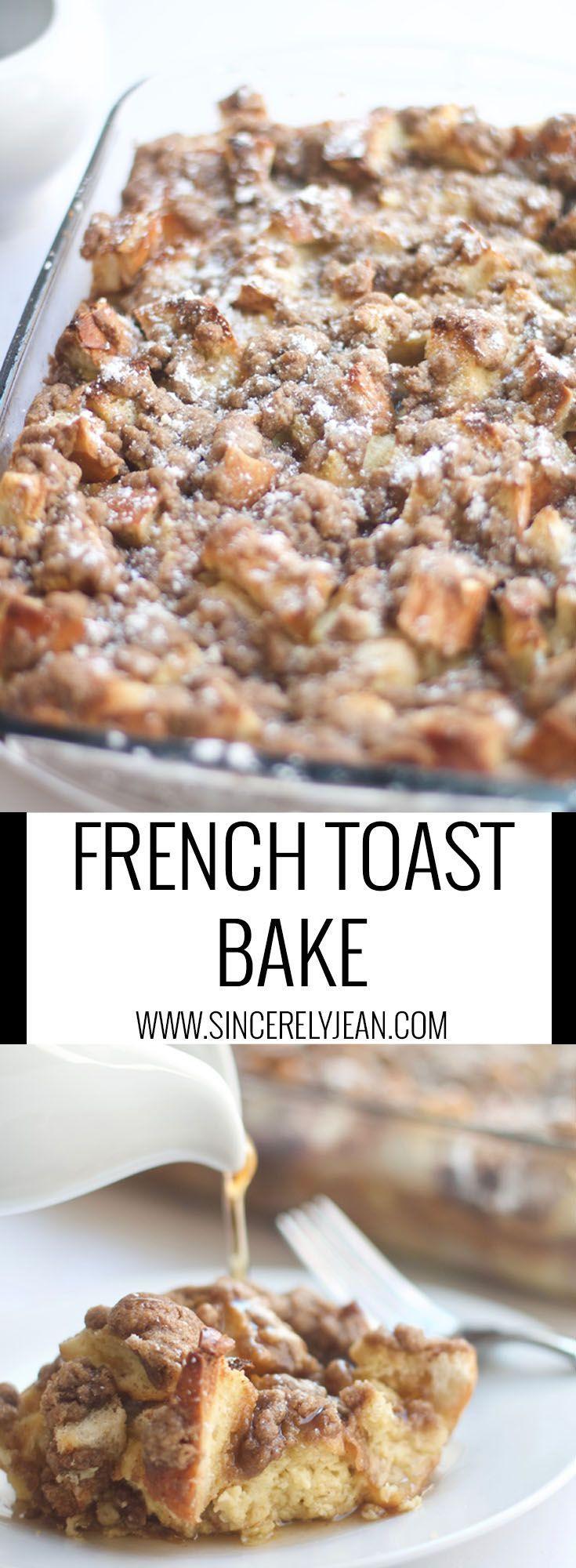 Best French Toast Casserole  Best 25 French toast casserole ideas on Pinterest