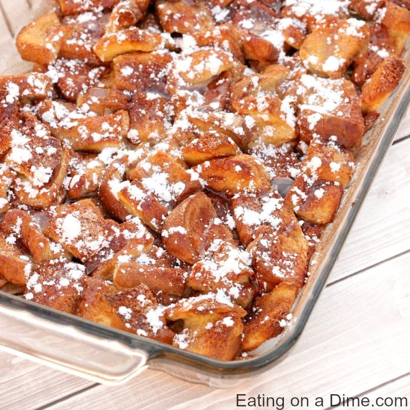 Best French Toast Casserole  Overnight French Toast Casserole Recipe Eating on a Dime