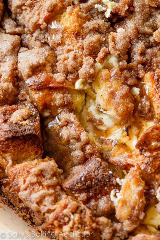 Best French Toast Casserole  Baked Cream Cheese French Toast Casserole