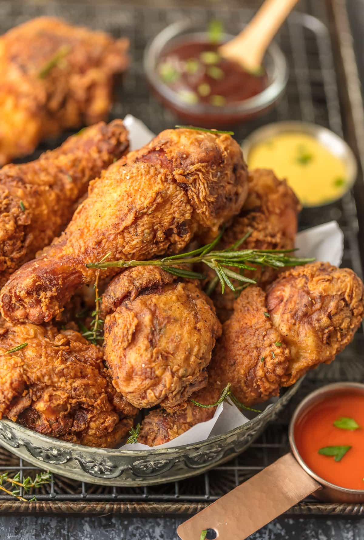Best Fried Chicken  Buttermilk Fried Chicken Recipe BEST EVER [VIDEO ]