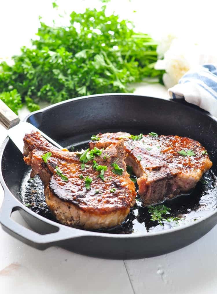 Best Fried Pork Chops  5 Ingre nt Pan Fried Pork Chops The Seasoned Mom