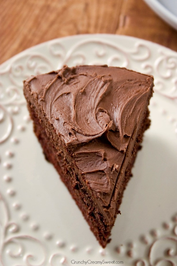 Best Frosting For Chocolate Cake  The Best Chocolate Cake Crunchy Creamy Sweet