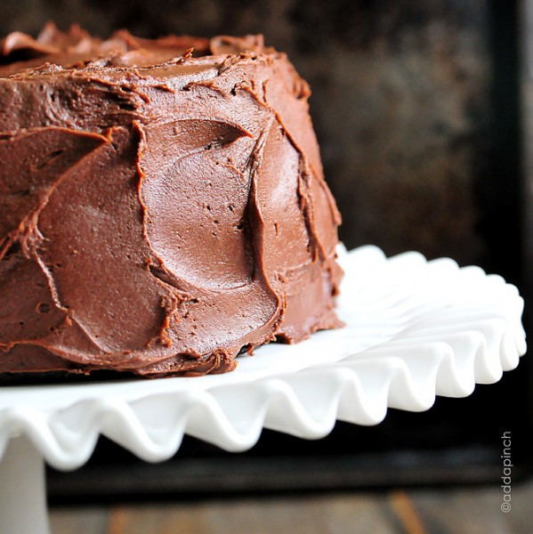 Best Frosting For Chocolate Cake  Perfect Chocolate Buttercream Frosting Recipe Add a Pinch