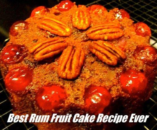 Best Fruitcake Recipe  Best Rum Fruit Cake Recipe Ever