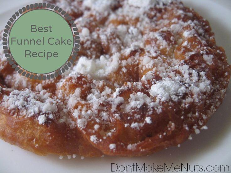 Best Funnel Cake Recipe  best funnel cake recipe Yummy Cakes