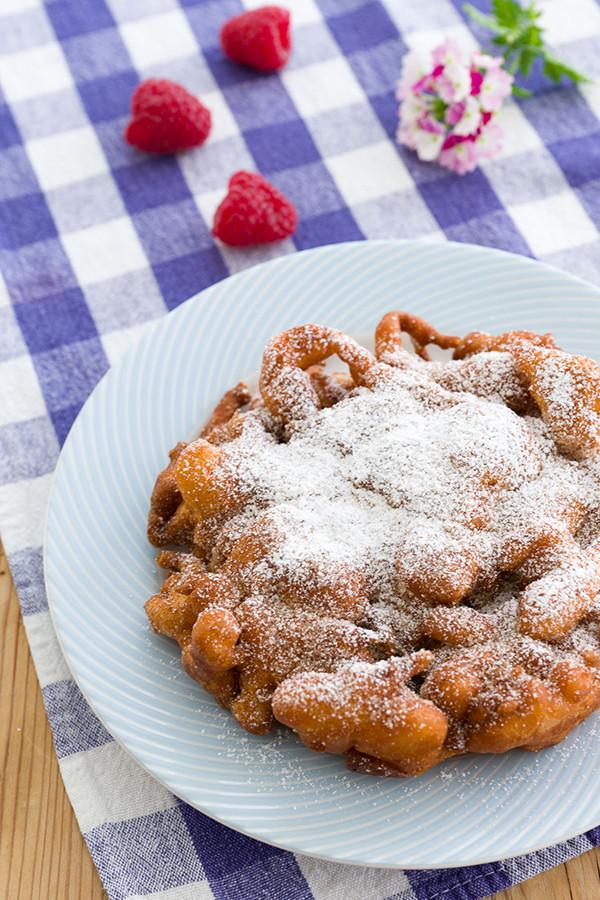 Best Funnel Cake Recipe  Churro Funnel Cakes Recipe Fresh Tastes Blog