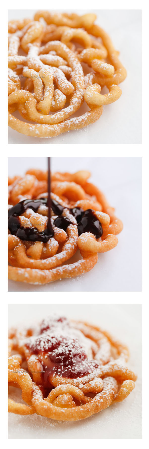 Best Funnel Cake Recipe  Mini State Fair Style Funnel Cakes