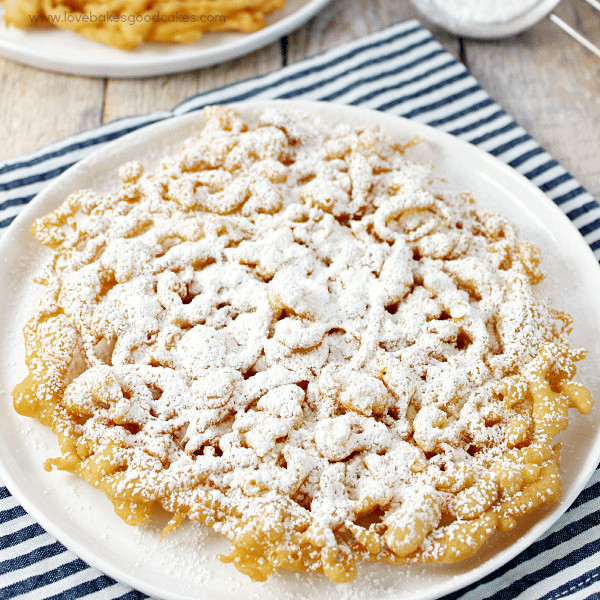 Best Funnel Cake Recipe  County Fair Funnel Cakes Love Bakes Good Cakes