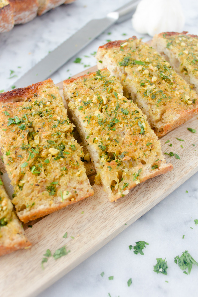 Best Garlic Bread  Sprinkles & Saturdays the best garlic bread