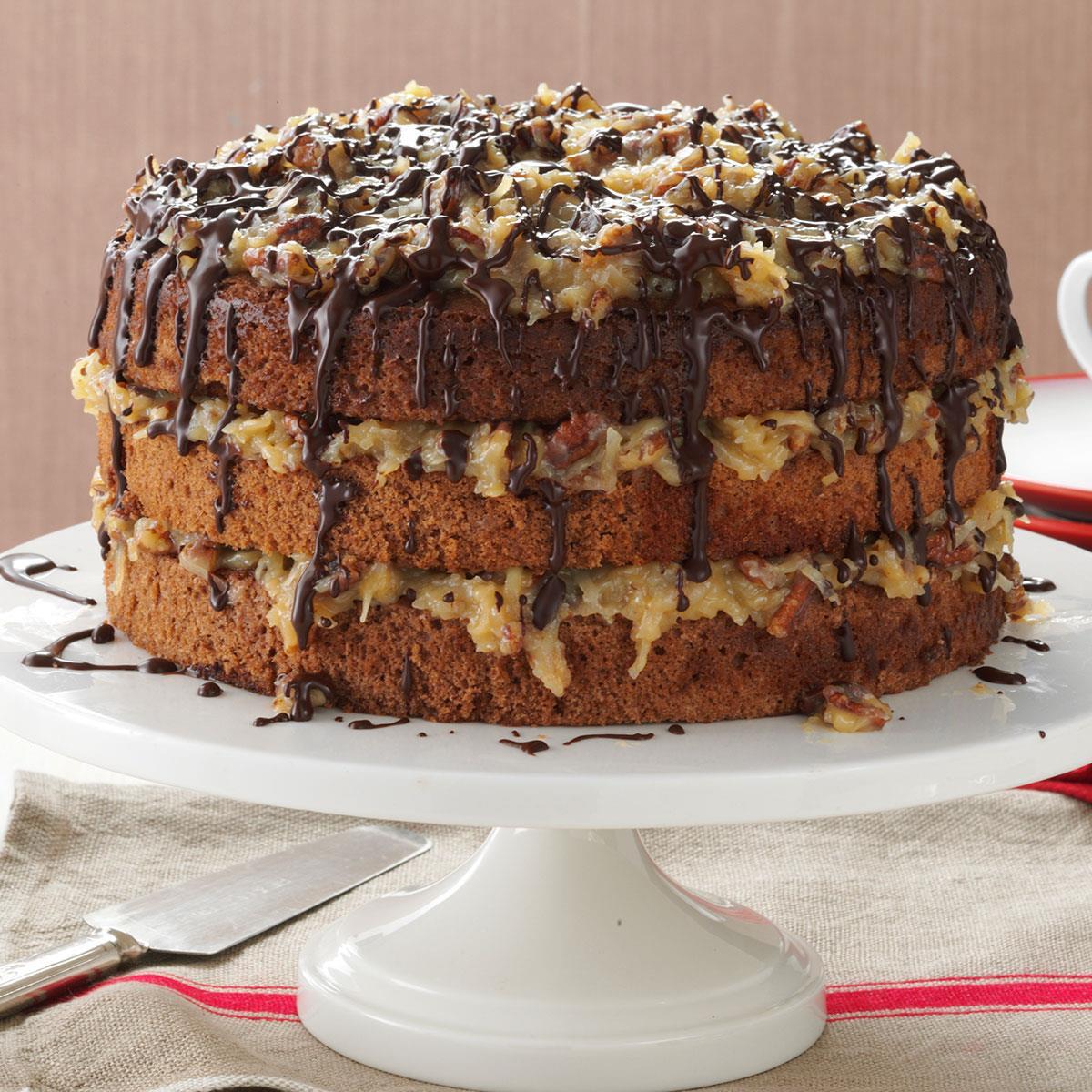 Best German Chocolate Cake  German Chocolate Cake Recipe